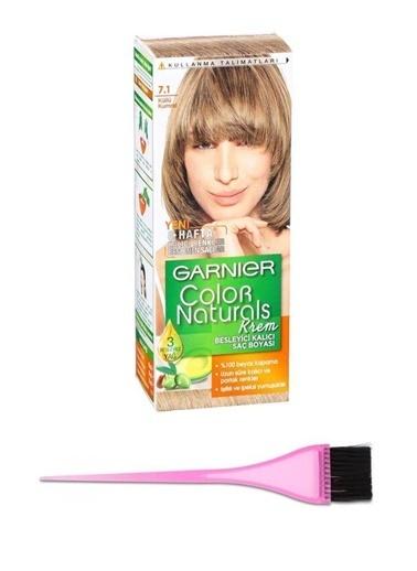 Garnier Garnier Color Naturals Saç Boyası 7.1 + Boya Fırçası Renksiz